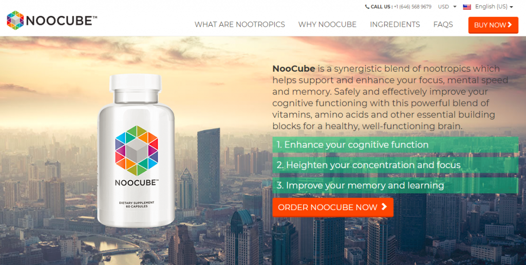 noocube new official website