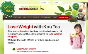kou tea official website preview